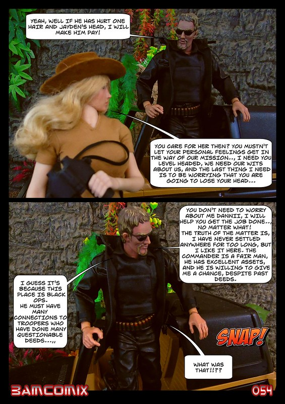 BAMComix Presents - Agent Down - Chapter Four -  Hitting the trail  50505183213_78592328ba_c