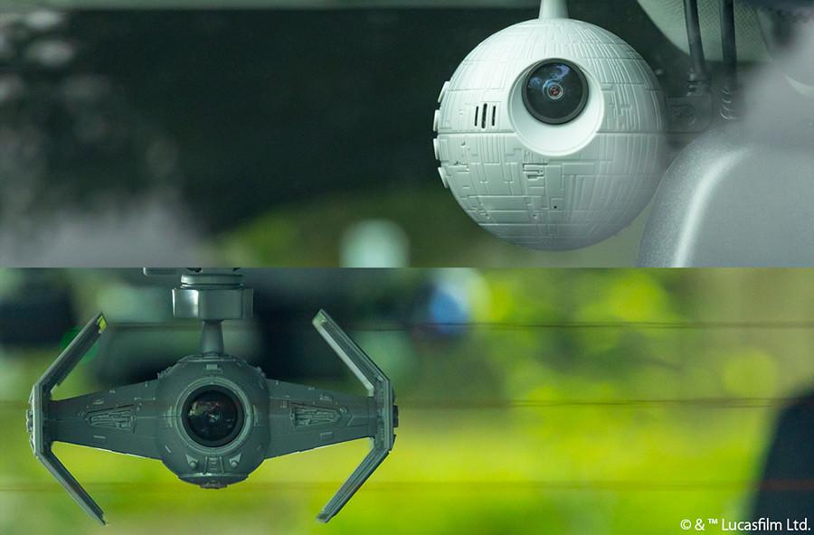 帝國軍監視中?PLEX 推出《星際大戰》死星 & 鈦戰機 造型行車記錄器