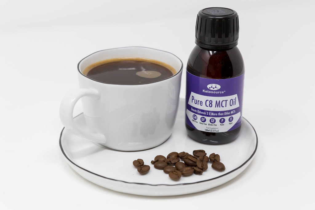 Bulletproof Coffee for more attention and energy. Coffee with MCT oil from 100% caprylic acid C8