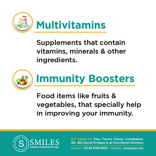 Multivitamins and Immunity Boosters - SMILES