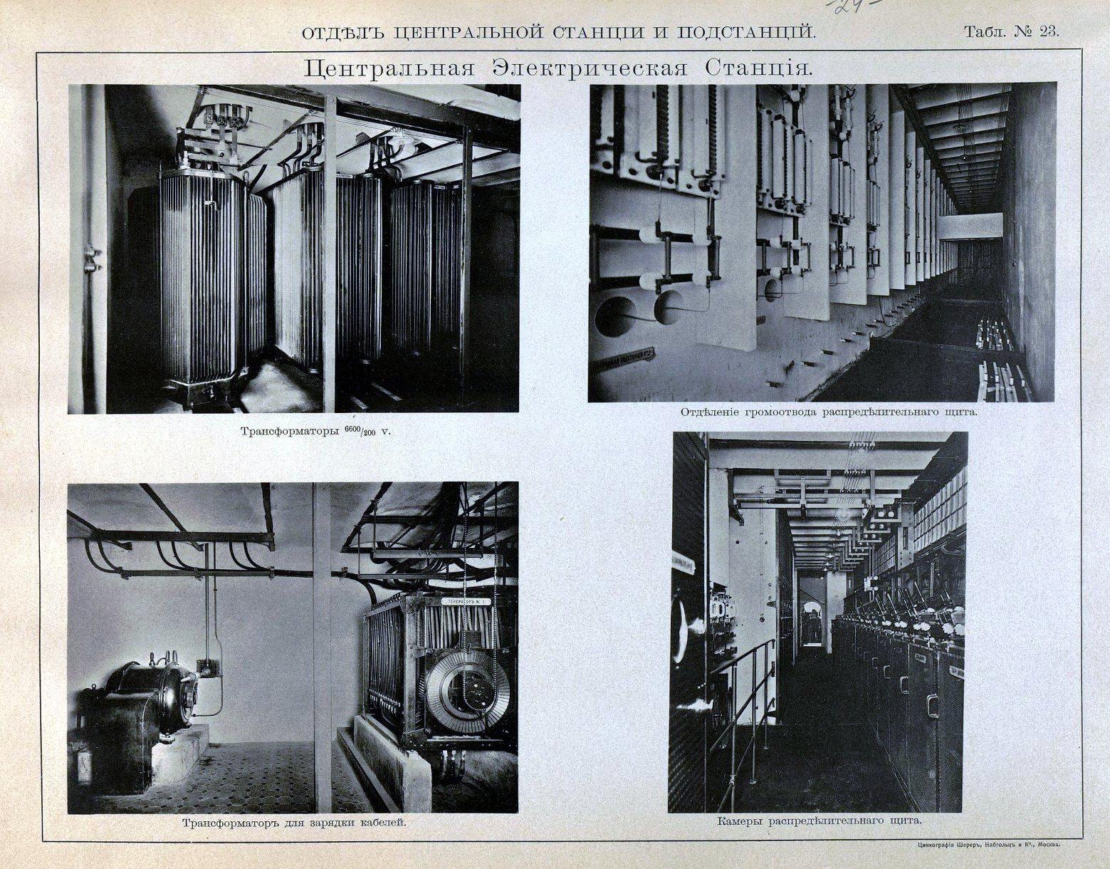 24. Центральная электрическая станция