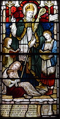 St Felix with the Brooks children (Powell & Sons, 1897)