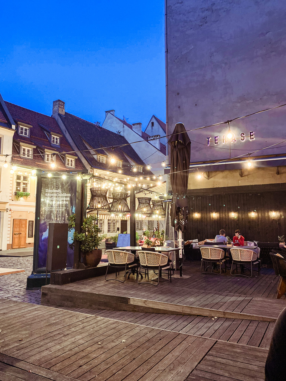 Medus restaurant Riga