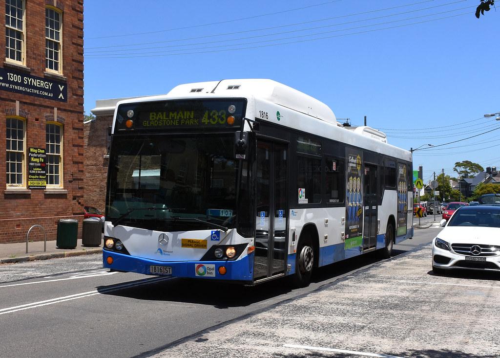 Bus 1816, Balmain, Sydney, NSW.