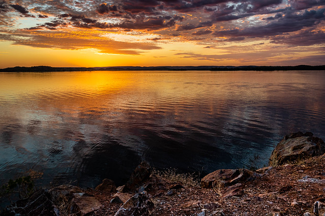 Lake Moondarra Sunset (Mount Isa, Queensland's North West)