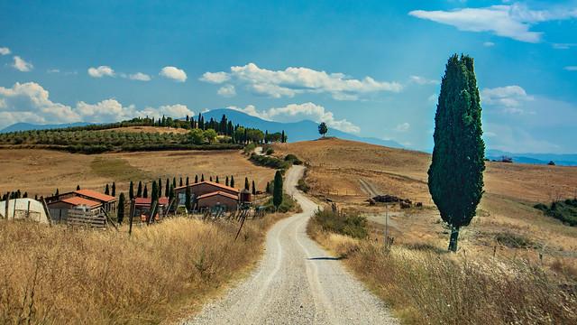Crete Senesi - Strada bianca