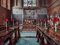 'the red brick twilight of St John's'
