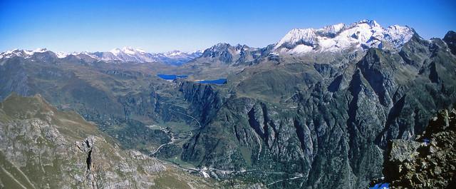 Alta Valle Formazza dalla Cima della Freghera