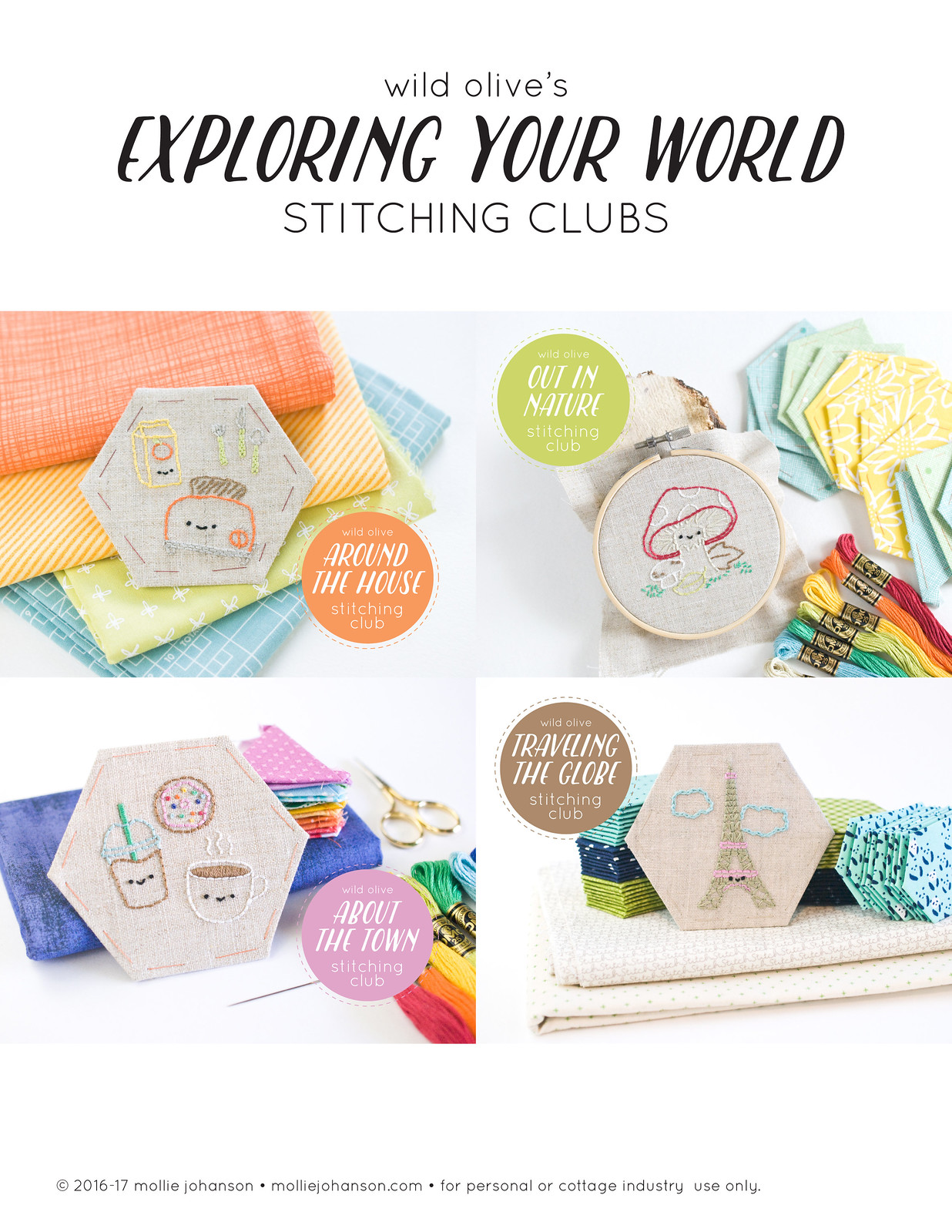 Exploring Your World Stitching Clubs