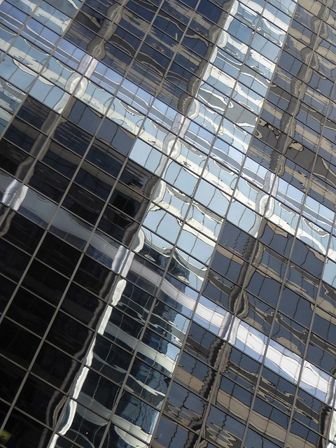 Chicago, Skyscraper, Abstract Reflection