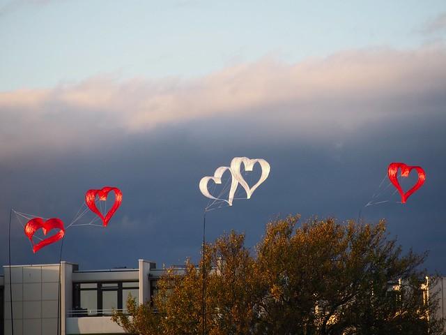 Make hearts rise   October 17, 2020   Fehmarn Island - Südstrand - Schleswig-Holstein - Germany