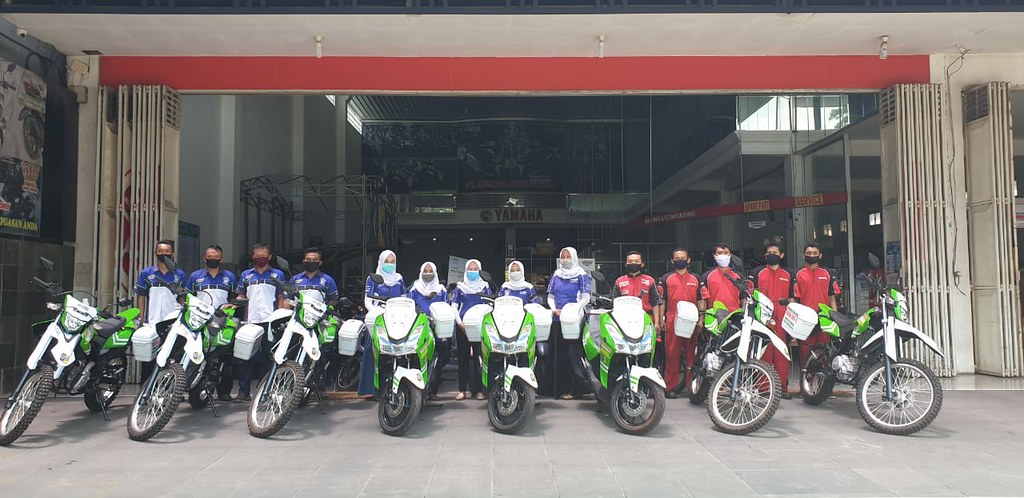 Yamaha support Dinkes Tulung Agung