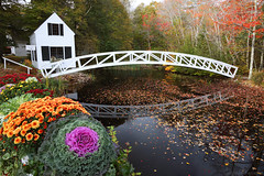 Canon EOS R5 (R6) Focus Stacking at the Somesville Bridge and Selectmen's Building