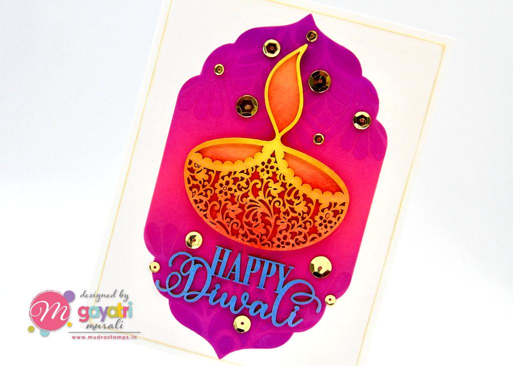 HappyDiwali card closeup1