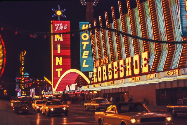Found Ektachrome Slide -- Las Vegas, 1969