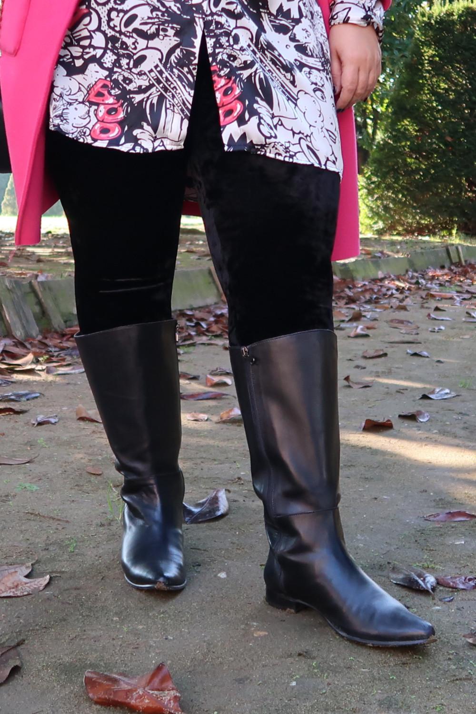 Stivali realizzati su misura, outfit curvy taglie forti (5)