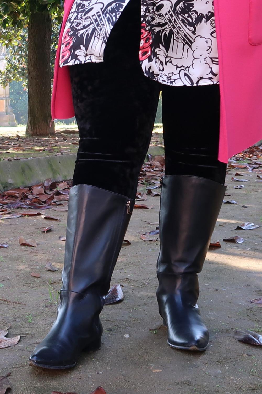 Stivali realizzati su misura, outfit curvy taglie forti (3)