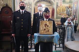19.10.2020 | Возвращение Иверской иконы в Иверский монастырь