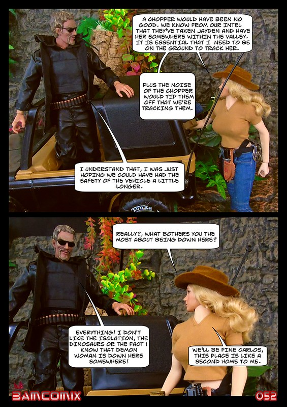 BAMComix Presents - Agent Down - Chapter Four -  Hitting the trail  50505897116_ea00aec65e_c