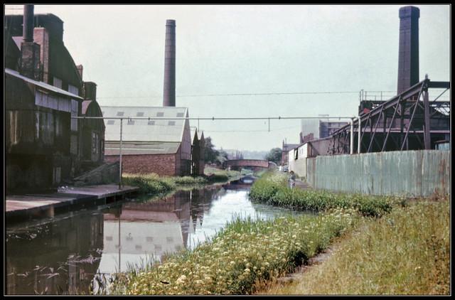 Canal & factories near Tipton