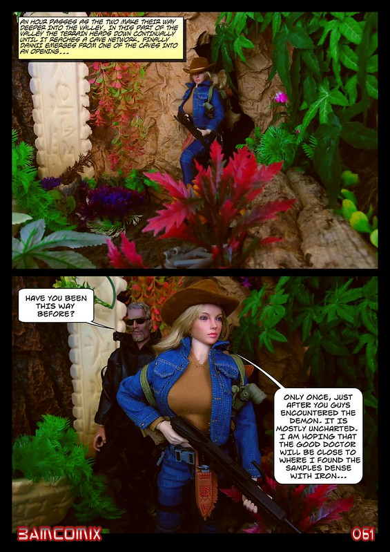 BAMComix Presents - Agent Down - Chapter Four -  Hitting the trail  50506052822_8ee0a23c47_c