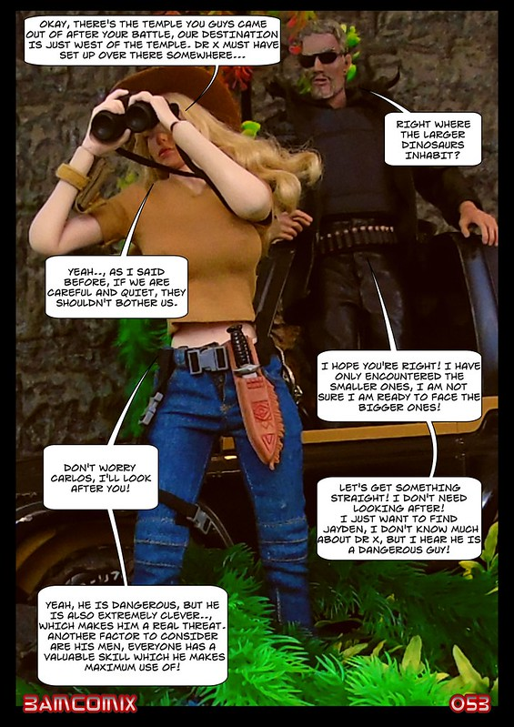 BAMComix Presents - Agent Down - Chapter Four -  Hitting the trail  50506057347_40d5223b04_c