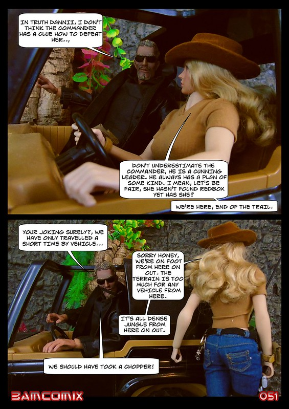 BAMComix Presents - Agent Down - Chapter Four -  Hitting the trail  50506058377_21a9a1097c_c