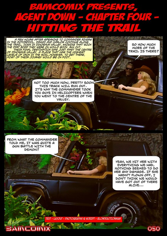 BAMComix Presents - Agent Down - Chapter Four -  Hitting the trail  50506059002_f5a8b84416_c