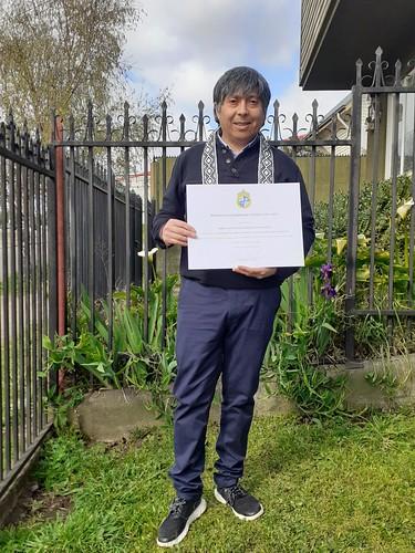 """Egresados diplomado """"Didáctica para la enseñanza de la lengua mapuche"""""""