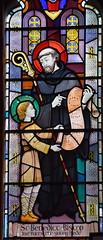 St Benedict Biscop and St Bede (Goddard & Gibbs)