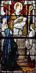 St Felix baptising Felix Brooks (Powell & Sons, 1897)