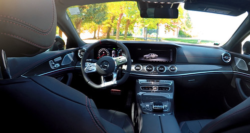 Mercedes CLS 53 AMG Essai