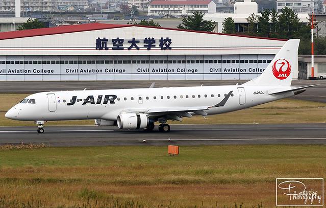 J-Air | Embraer 190-100STD | JA250J | RJFM/KMI