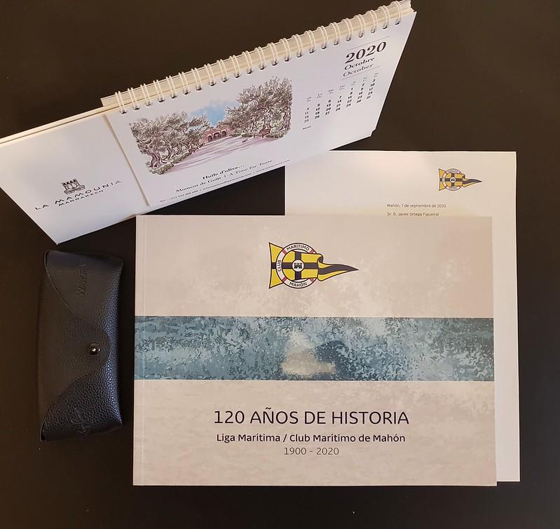 Liga Marítima / Club Maritimo de Mahón. 120 años de historia.