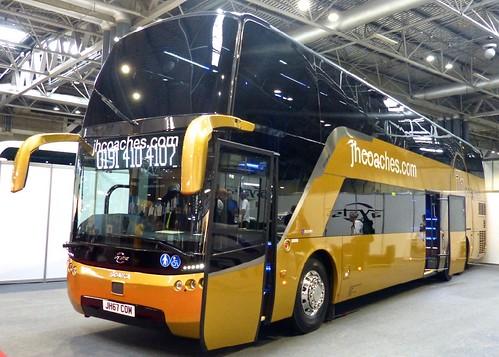 JH67 COM jhcoaches.com. Scania K450EB6 / Ayats Eclipse on Dennis Basford's railsroadsrunways.blogspot.co.uk'