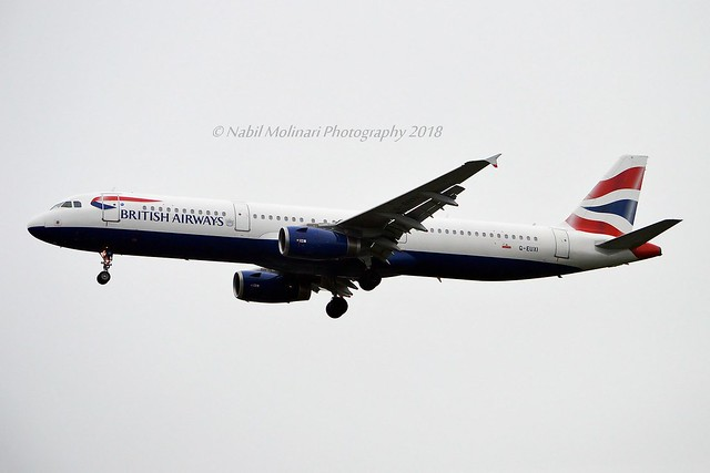 British Airways G-EUXI Airbus A321-231 cn/2536 @ EGLL / LHR 26-05-2018