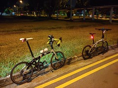 Night ride 19 Oct