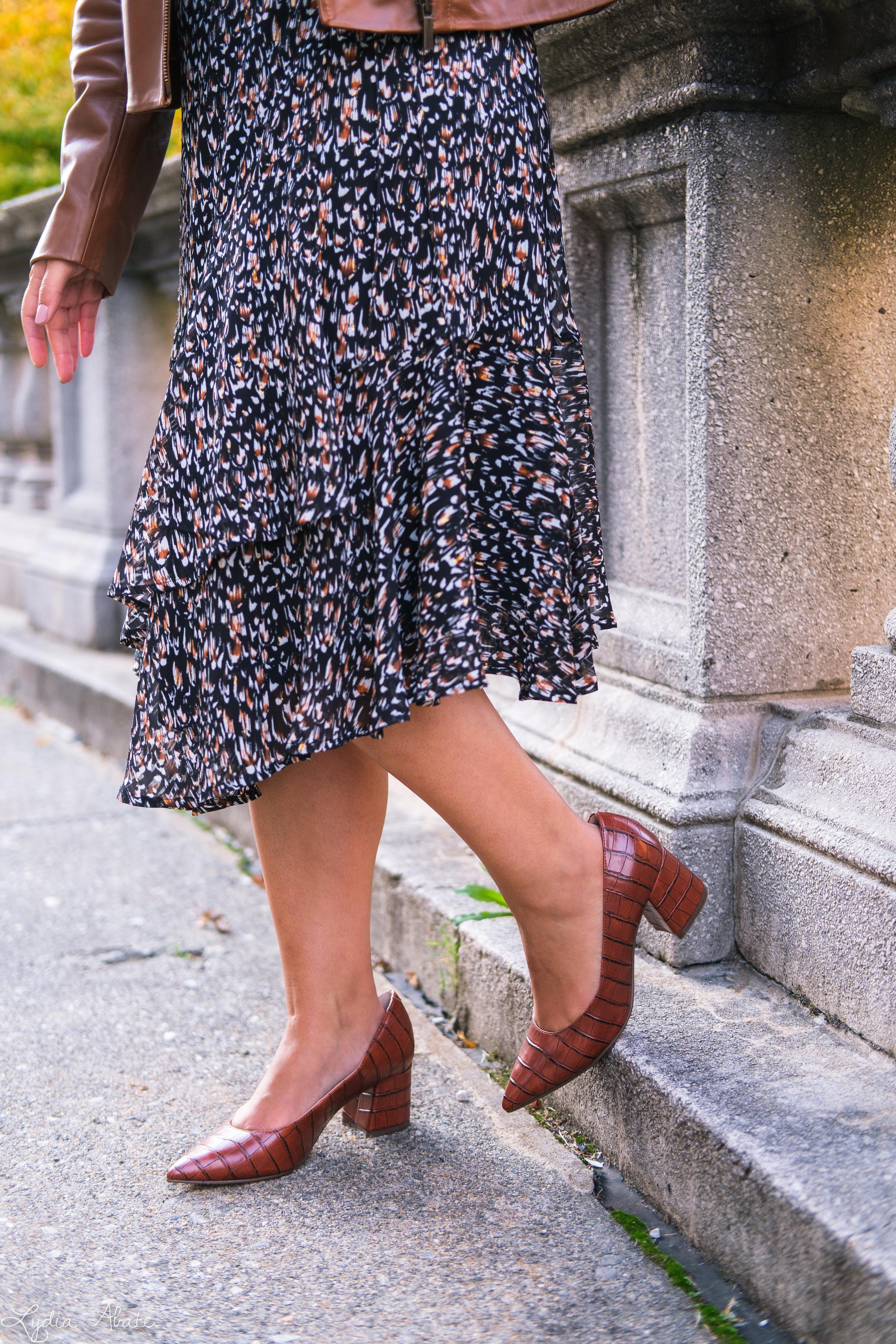long sleeve wrap dress, brown leather jacket, croc pumps-15-2.jpg
