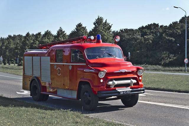 Chevrolet 5700 Fire Truck 1958 (7555)