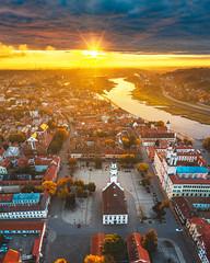 Old town panorama | Kaunas aerial #292/365