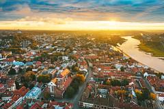 Old town | Kaunas aerial