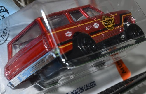 2020 Hot Wheels #174 Muscle Mania #2 '64 Nova Wagon Gasser | by Milton Fox