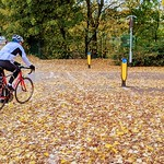 Biking in Autumn at Penwortham