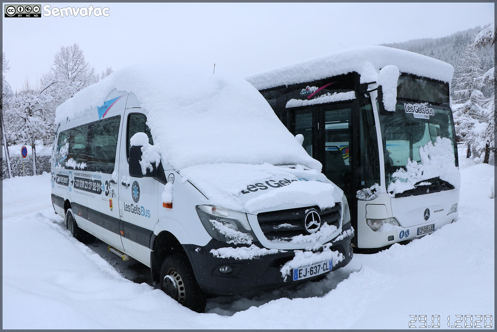 Mercedes-Benz Sprinter – Gavot Tourisme / Les Gets Bus / Navette Nocturne n°175