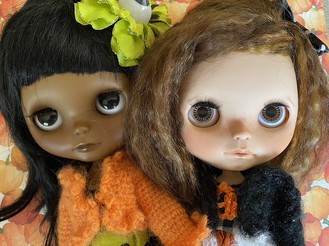 My two Chantilly Lace girls.  Fallon and Clarissa....