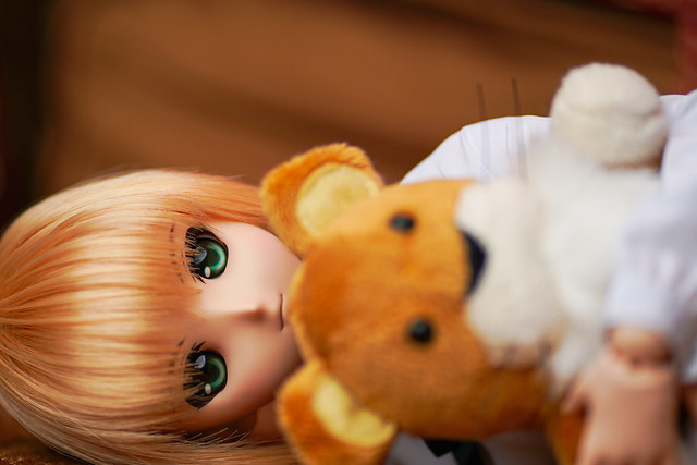 Saber (2008) Dollfie Dream and Lion Plush