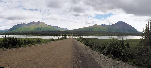 Denali Highway crossing the Sustina River