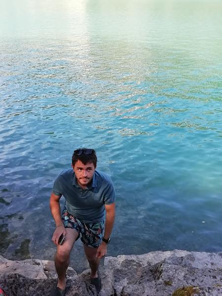 clem au lac de Nantua