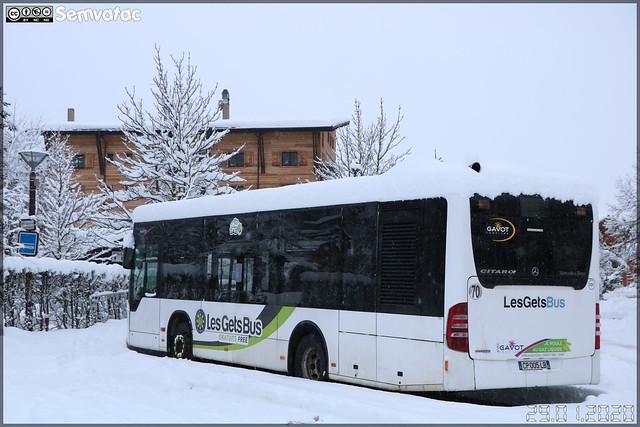 Mercedes-Benz Citaro K – Gavot Tourisme / Les Gets Bus n°131