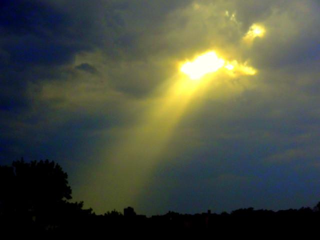 Ray of Hope at Rainy Day